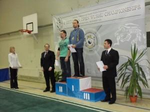 Roland Tepp -95 kg meeste tõukavate käte võistluste võitja