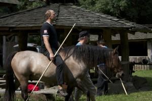 Marko hobuse seljas