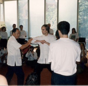 Author koos Wang Yen-nieniga Great River Taoist Center Washingtoni kools, 1994.